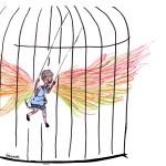 'Eu sei porque o pássaro canta na gaiola', Maya Angelou